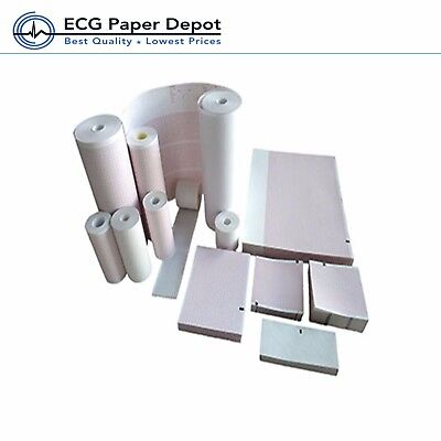 Ecg Ekg Thermal Paper Welch Allyn 94016-0000 For Cp100 Cp200 Cp150 10 Pack