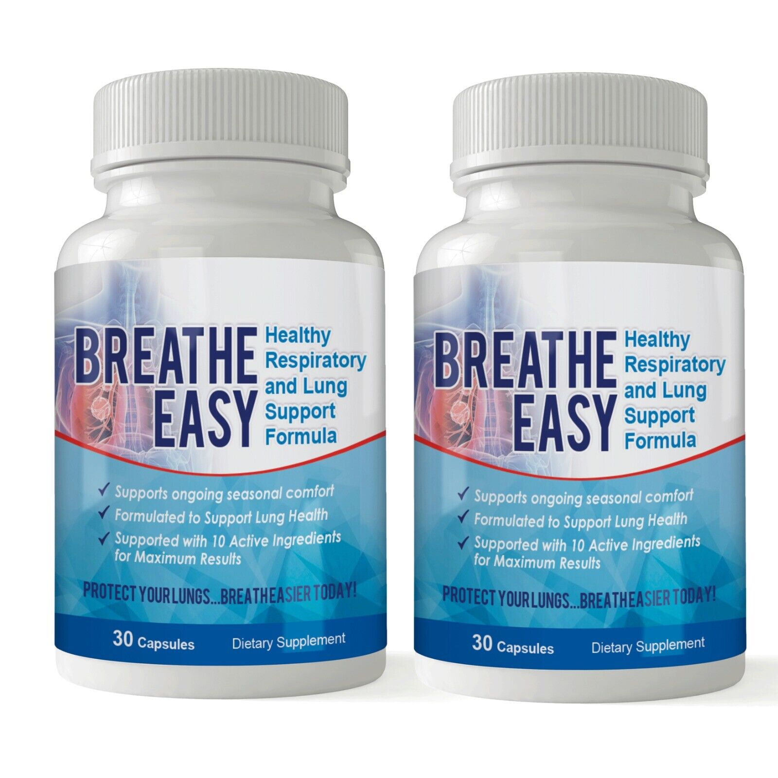 Health Respiratory System Caps Clear Lungs Dietary Pills 1
