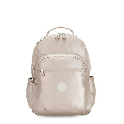 "Kipling Seoul Large Metallic 15"" Laptop Backpack"