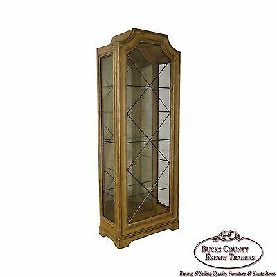 Marge Carson Tal Rivoli Curio Display Cabinet Traditional Curio Cabinets