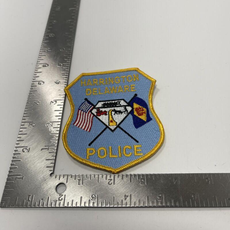 Vintage Harrington Delaware Police Patch