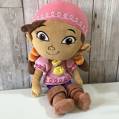 Izzy From Disney's Jake And The Neverland Pirates Soft Toy Teddy 12