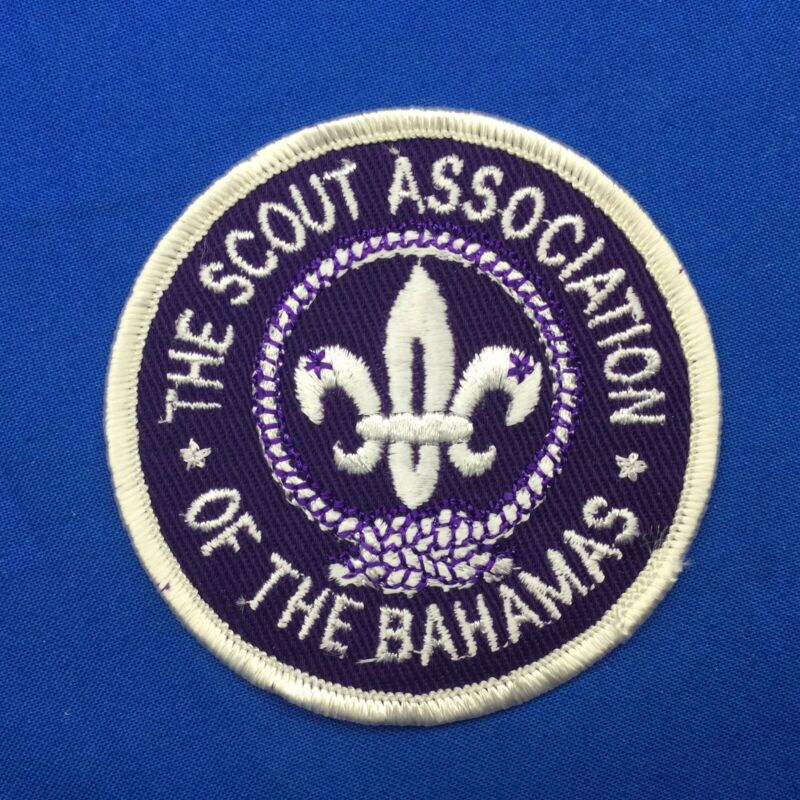 Boy Scout The Scout Association Of The Bahamas Patch
