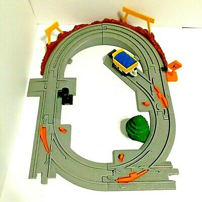 Geo Trax Mountain Blast Construction Train Track Lot + Accessories Fisher Price