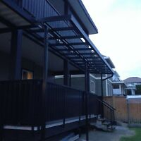 A&T patio covers and awnings (Surrey)