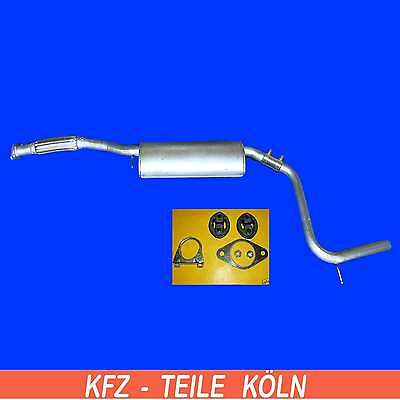 FORD MONDEO 2.0i Exhaust System Silencer-MUFFLER EXHAUST+Assembly Kit