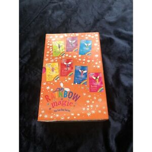 """Rainbow magic, """"The Fun Day Fairies"""" set of 7 Box Hill North Whitehorse Area Preview"""