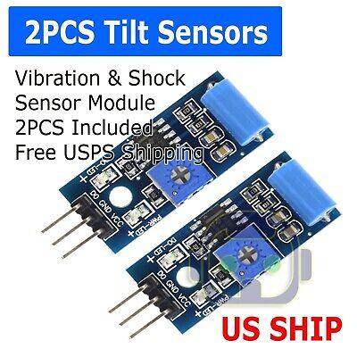 - 3.3-5V  SW 420 Motion Tilt Sensor Vibration Switch Alarm Module for Arduino