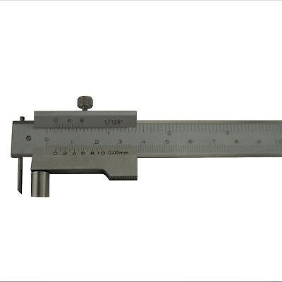 Industrie Anreiss Messschieber Anreissmessschieber mit Rolle Streichmaß 200 mm