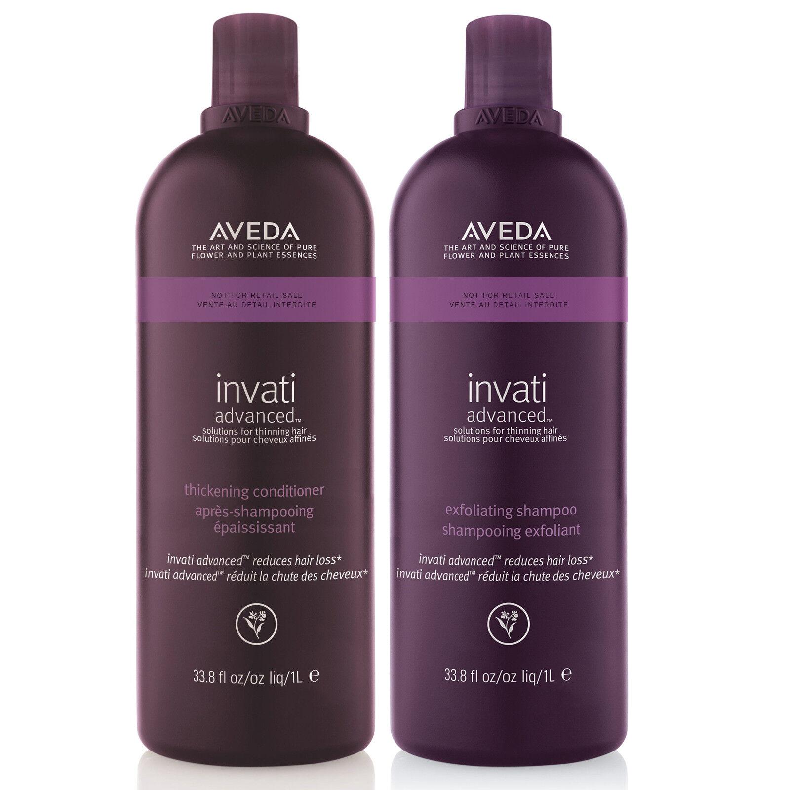 Invati Advanced Exfoliating Shampoo and Thickening Condition