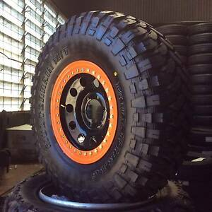 GENUINE 4X4 OFFROAD 32 BEADLOCKER STEEL RIMS - MARCH SPECIALS!!! Archerfield Brisbane South West Preview