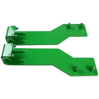 For John Deere Tractor Loader Quick Tach Weld On Mounting Brackets