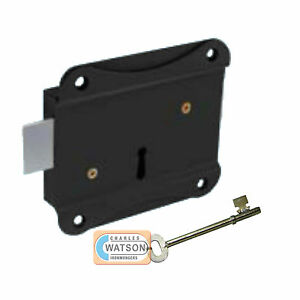 75mm-3-PRESS-LOCK-Face-Fixing-for-Shed-Gate-Door-Dead-Deadlock-Security