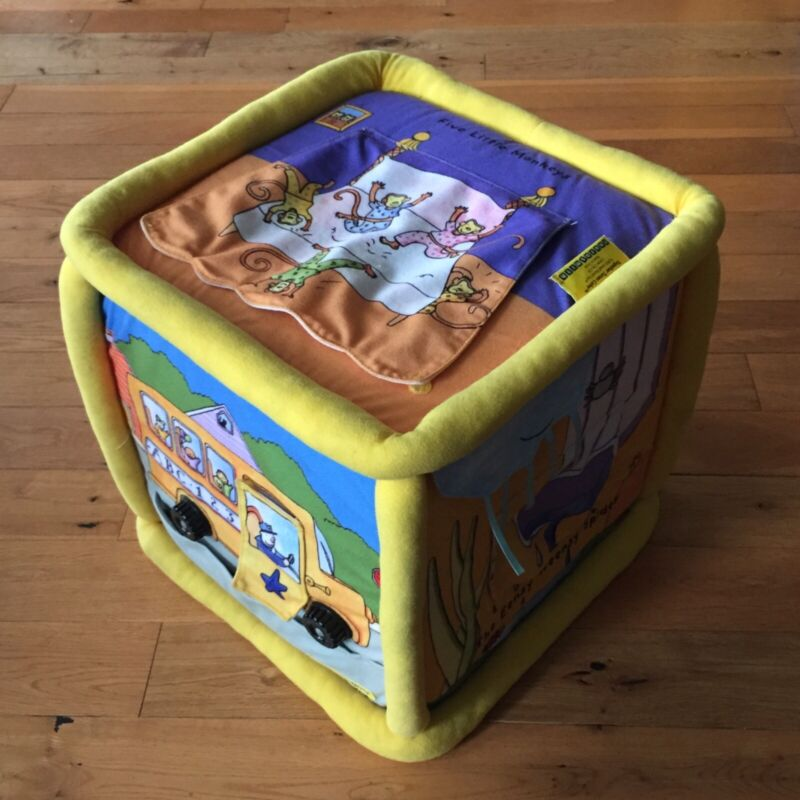 Neurosmith Together Tunes Interactive Musical Block Cube Plays Songs