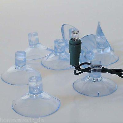 Ventosa Plástico Sujeción De LED Cadena de Luces Ventana Luces de Navidad
