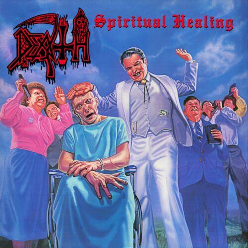 DEATH Spiritual Healing BANNER HUGE 4X4 Ft Fabric Poster Flag band album art
