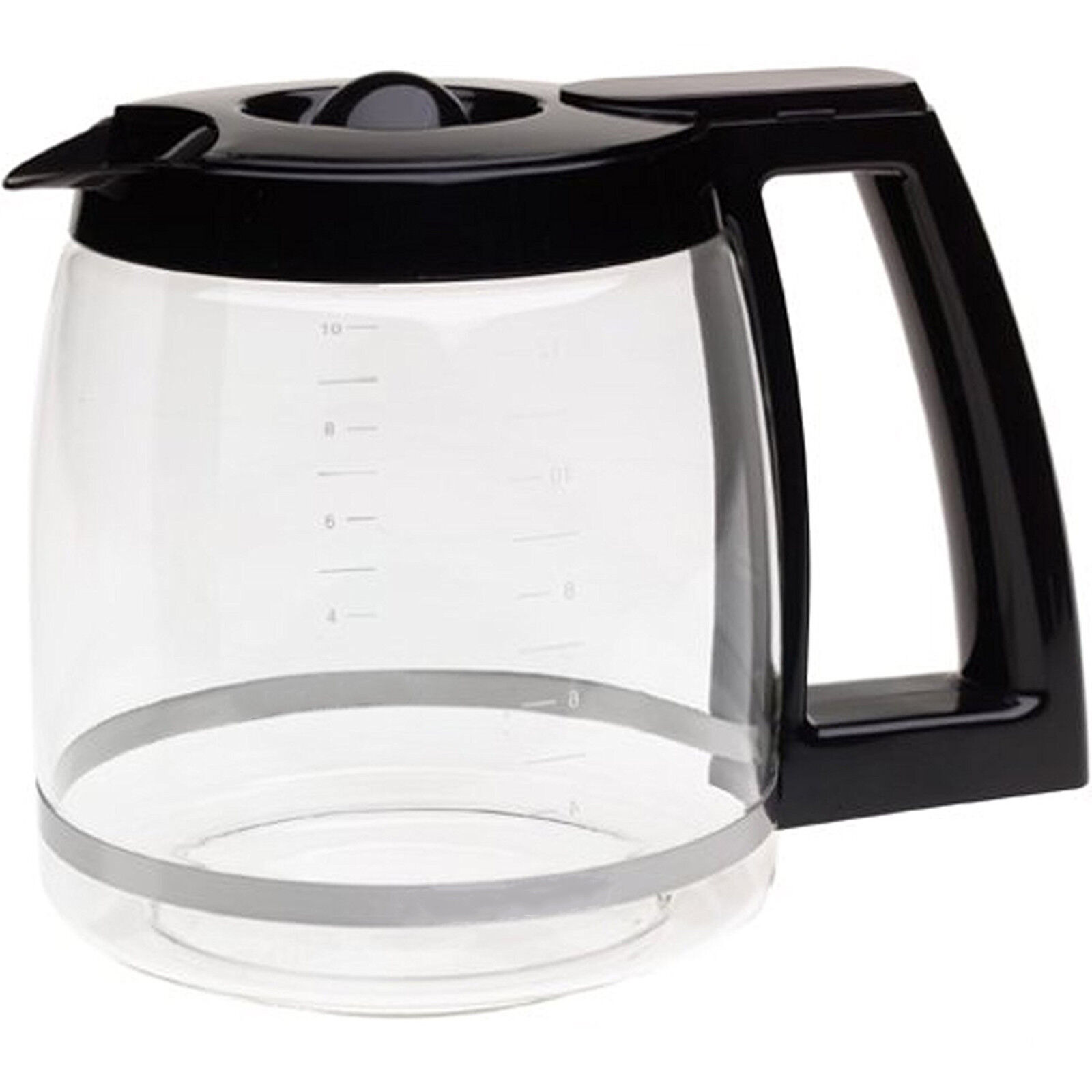 Replacement Coffee Maker Machine Glass Carafe Jug for Cuisin