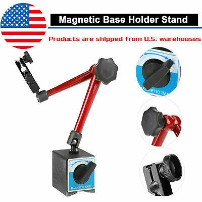 14 Magnetic Metal Base Holder Stand Dial Test Indicator Tool Adjustable