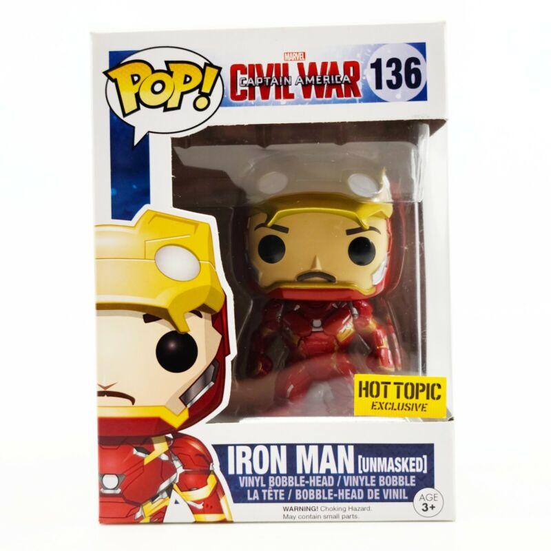Captain America Civil War #139 POP Crossbones Unmasked Vinyl