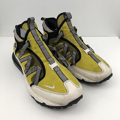 NIKE AIR MAX 270 BOWFIN DARK CITRON MENS YELLOW TRAINERS SHOES SIZE...