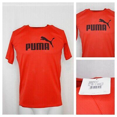 Mens Genuine Puma Lightweight Casual Big Cat QT T Shirt Top Size XS
