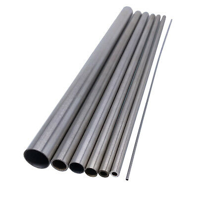 Us Stock 4pcs Od 7mm Id 6mm Length 250mm 304 Stainless Steel Capillary Tube