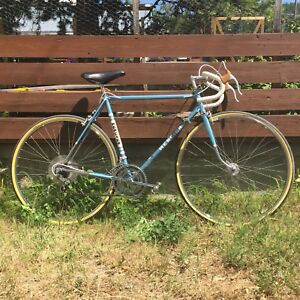 "1975 Mercier 10 speed road bike, 55cm/22"" frame"