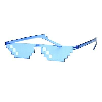 Thug Life Sunglasses Pixel Gangster Gangsta Life Funny Novelty Shades (Live Sunglasses)