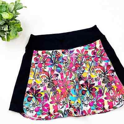 Dona Jo Colorful Printed Skort Size 1 / Small