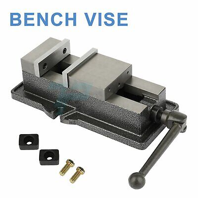 Bench Vise Drill Press Vice 6inch Table Clamp Heavy Duty Milling Mechanic Metal