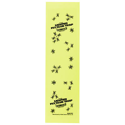 "Fly Light Glue Boards 17"" x 4.75"" (Pack of 12) Fly Light Trap Replacement Boards"