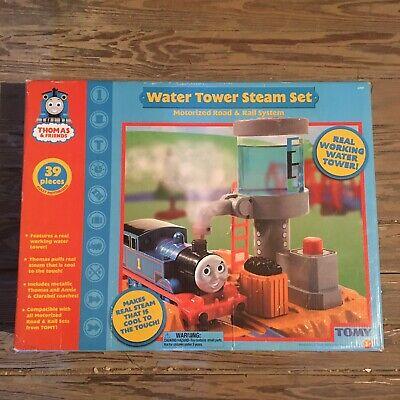 Thomas The Train & Friends Water Tower Steam Set Road Rail System 2006 NEW NIB