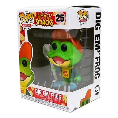Funko Pop Ad Icons Kellogg's Honey Smacks Dig Em' Frog Vinyl Figure #25 In Stock