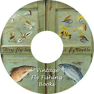 42 Old Fly Fishing Books Collection on DVD Antiquarian FREE UK Post