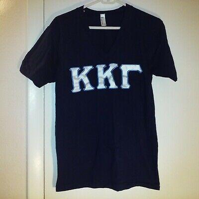 Kappa Kappa Gamma Sorority tee t-shirt Shirt Size M Blue