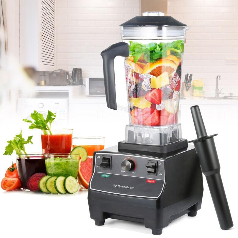 2200W Food Processor Blender Ice Crushing Juicer 2L Shakes Smoothie Fruits Mixer