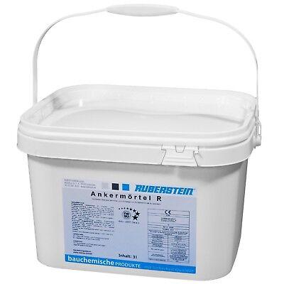 Ruberstein®Ankermörtel R sulfatbeständig 2K 2 Eimer a 6kg,Mörtel für Spiralanker (Spiral-anker)