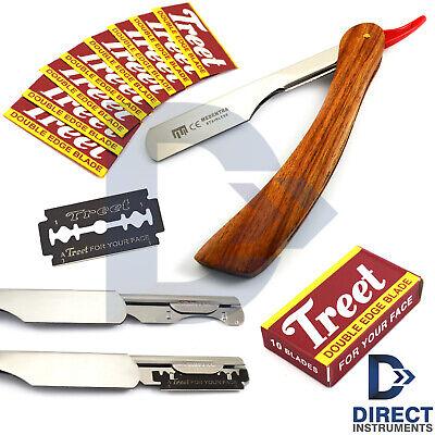 Best Straight Razor Wood Handle Slider Barber Wet Shaving Men Cut Throat