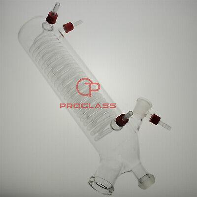 Proglass Lab Rotary Evaporator Glass Condenser Vertical For Buchi200mm Body