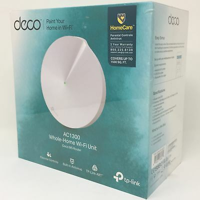 TP-Link Deco M5 Wi-Fi System  – Router Replacement for Sec
