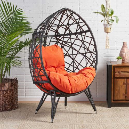 Kyahna Freestanding Wicker Egg / Teardrop Chair Chairs