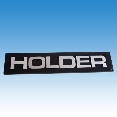Holder Schild Schriftzug für Kühlergrill Holder A 40 A 50 A 60 A 62 A 65  Foto 1