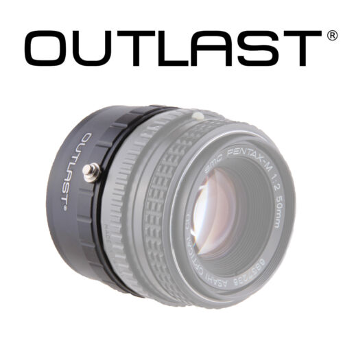 OUTLAST PK-NEX Adapter Pentax K PK Lens to Sony E NEX Mount K-NEX Pentax-Sony E