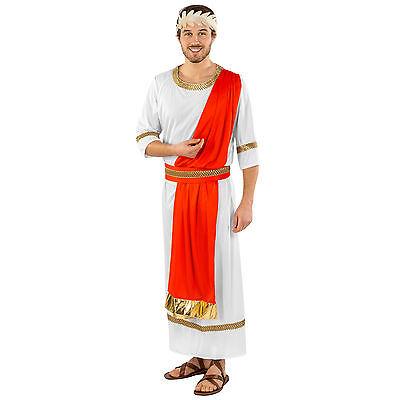 Toga Toga Toga (Edles Römer Kostüm Antike Imperator Römerkostüm Rom Caesar Toga Fasching Grieche)