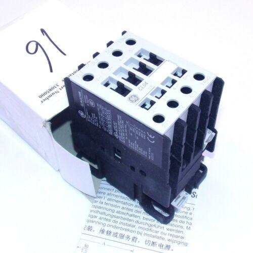 General Electric 110/120VAC Coil 600VAC 54A 3PST+1NO Contactor CL04A310MJ