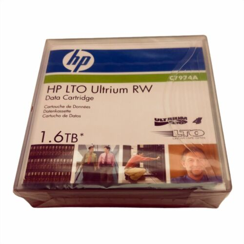 HP LTO-4 Ultrium RW Data Cartridge 1.6TB - NEW