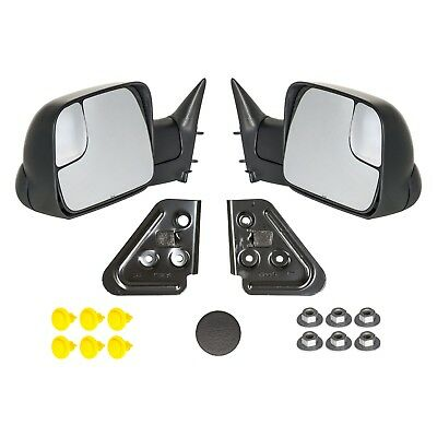 1998-2001 Dodge Ram 1500 and 1998-2002 Dodge Ram 2500 3500 MANUAL Tow Mirrors OE