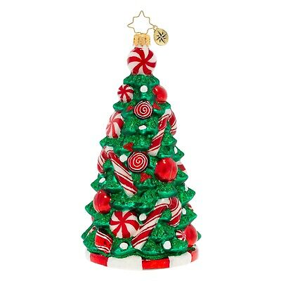 [NEW Christopher Radko PEPPERMINT PARADISE TREE Christmas Ornament 1020141</Title]