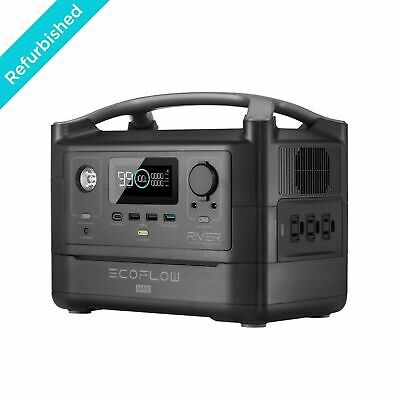 EcoFlow RIVER Max Portable Power Station, 576Wh Battery Certified Refurbished