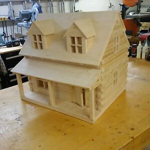 Log Dollhouses